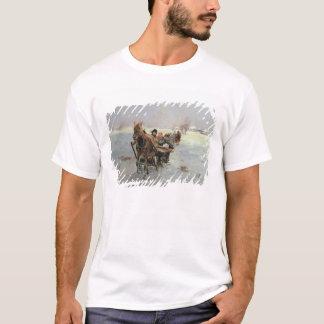 Sleighs in a Winter Landscape T-Shirt
