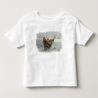 Sleighs in a Winter Landscape Tshirts