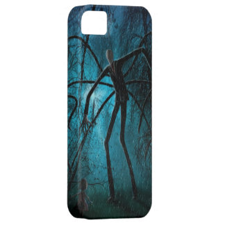 Slender Man and the Lost Soul iPhone 5 Cases