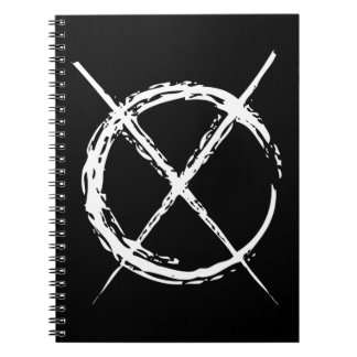 Slender Man Spiral Notebook