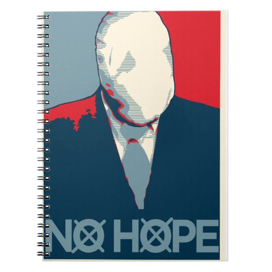 Slenderman: No Hope Spiral Notebook