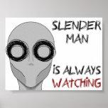Slenderman- Watching Poster