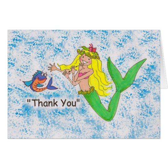 SLG Mermaid Card
