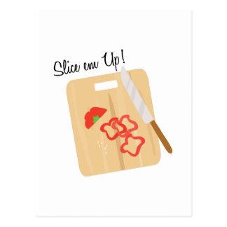 Slice Em Up! Postcard