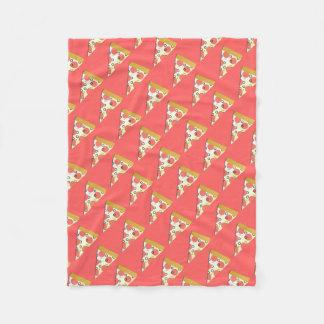Slice O Pizza Fleece Blanket