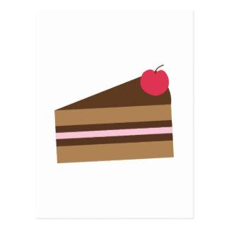 Slice Of Cake Postcard