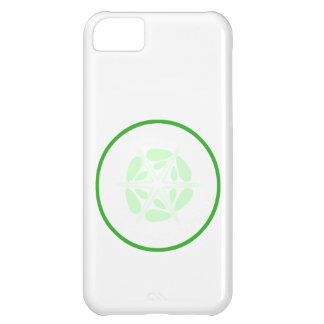 Slice of Cucumber. Green and White. iPhone 5C Case