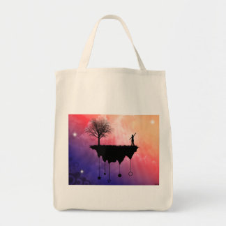 Slice of Earth Tote Bags