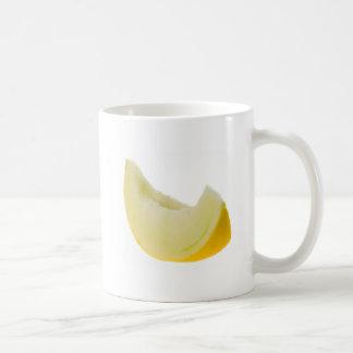 Slice of honey white melon coffee mug