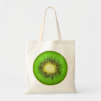 Slice of kiwi budget tote bag