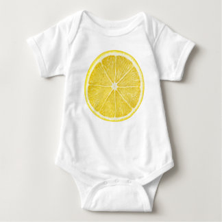 Slice of lemon baby bodysuit