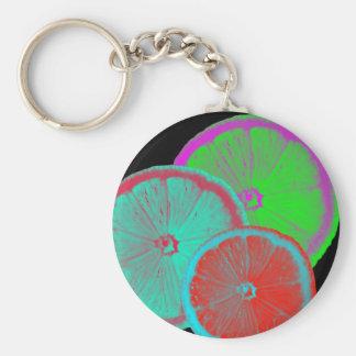 Slice Of Lemon Keychain
