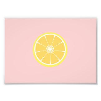 slice of lemon photo art
