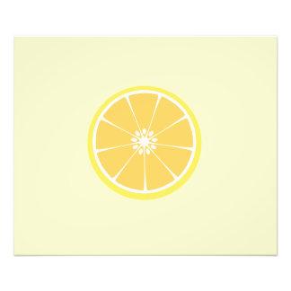 slice of lemon photograph