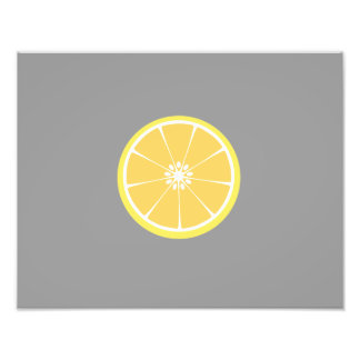 slice of lemon photograph