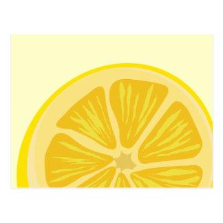 Slice of Lemon Postcard