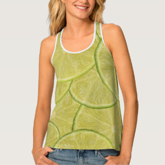 Slice of Lime 1010 Tank Top