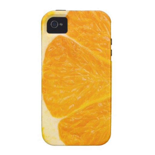 Slice Of Orange Vibe iPhone 4 Cover