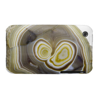 Sliced and Polished Agate Geode iPhone 3 Case