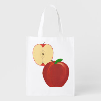 Sliced apple Whole Apple Grocery Bags