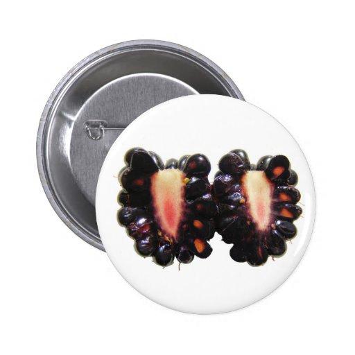 Sliced Blackberry ~ button
