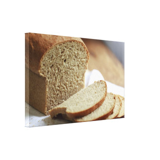 Sliced Bread photo Gallery Wrapped Canvas