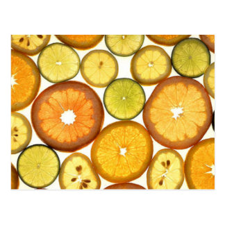 Sliced Citrus Postcard