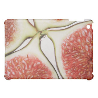 Sliced figs, close-up cover for the iPad mini