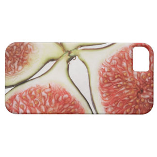 Sliced figs, close-up iPhone 5 cases