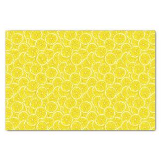 """Sliced Lemon Pattern 10"""" X 15"""" Tissue Paper"""