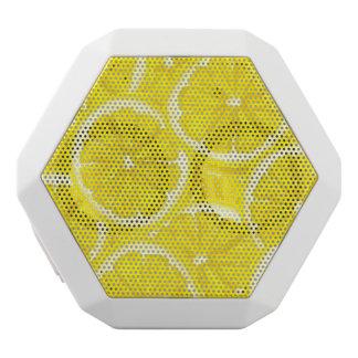 Sliced Lemon Pattern White Boombot Rex Bluetooth Speaker