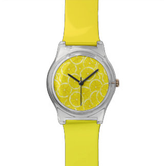 Sliced Lemon Pattern Watch