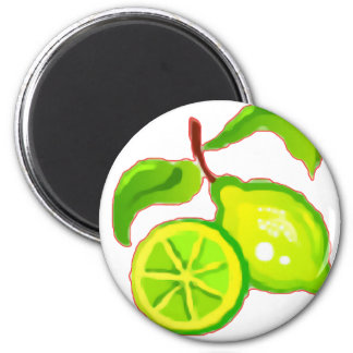 Sliced Lime Magnet