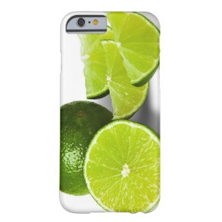 Sliced lime wedge, on white background, cut out barely there iPhone 6 case