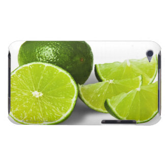 Sliced lime wedge, on white background, cut out Case-Mate iPod touch case