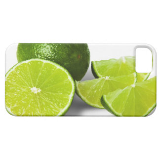 Sliced lime wedge, on white background, cut out iPhone 5 cover