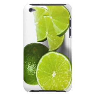 Sliced lime wedge, on white background, cut out iPod touch covers