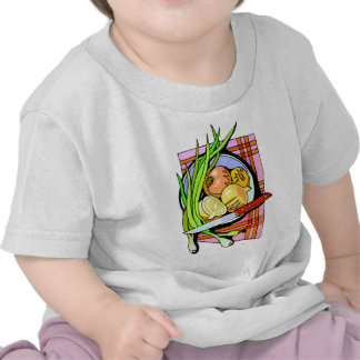 Sliced Onions and Potatoes T-shirt