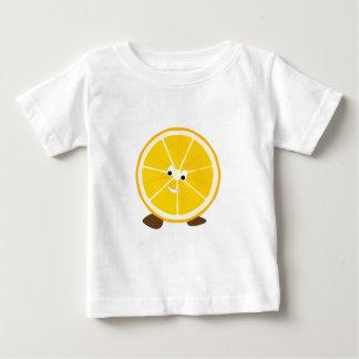 Sliced orange character t-shirts