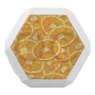Sliced Orange Pattern White Boombot Rex Bluetooth Speaker