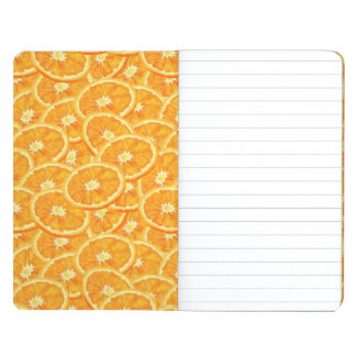 Sliced Orange Pattern Journal