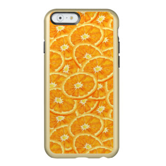 Sliced Orange Pattern Incipio Feather® Shine iPhone 6 Case