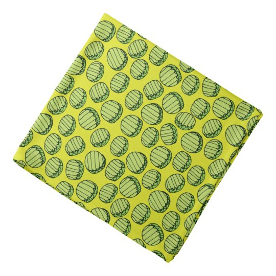 Sliced Pickles Bandana