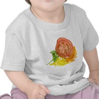 sliced tomato and peppers t-shirt