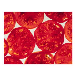 Sliced Tomatoes Postcard