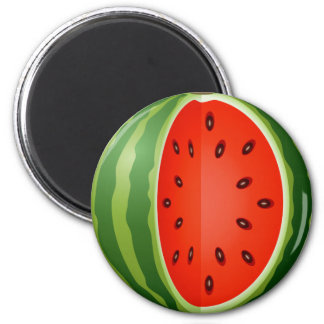SLICED WATERMELON MAGNET
