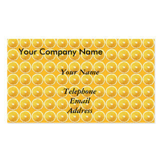 Slices of Oranges - Juice Theme Business Cards