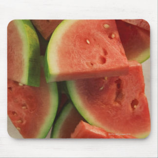 Slices of watermelon mouse mat