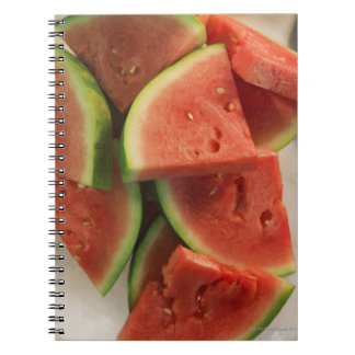 Slices of watermelon notebook