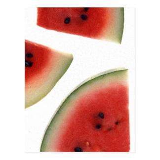 Slices of Watermelon Postcard